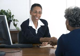 Meeting with a business broker