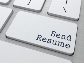 Send resume via email