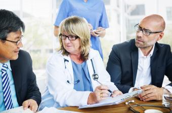 Medical practice goal meeting