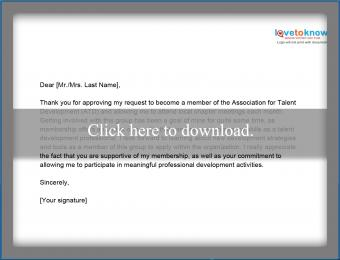 thank you for approving professional association