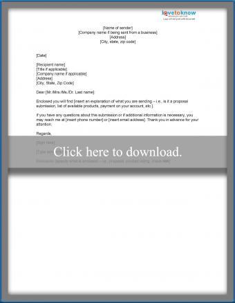 Brief transmittal letter