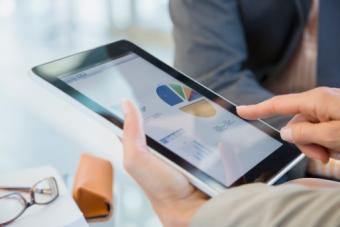 Reviewing financial data