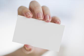 Business Card Sizes
