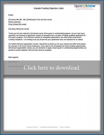 Vendor polite to rejection letter Sample Quotation