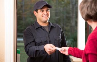 Handyman Business Card Samples