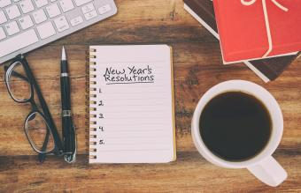 8 New Year's Resolution Ideas for Work