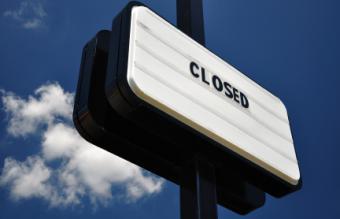 Notice of Business Closure