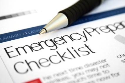 Emergency Preparation Checklist