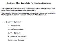 business startup plan