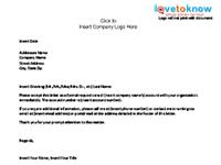 Company Cancellation Letter  Business Termination Letter Sample