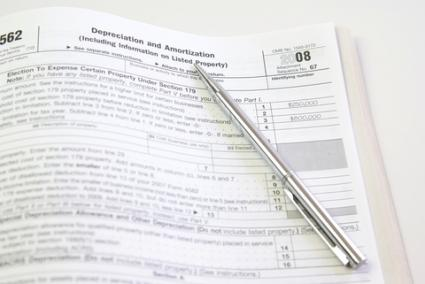 IRS form 4562 Depreciation and Amortization