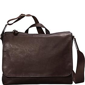 eBags Tribeca Colombian Leather Vintage Laptop Messenger