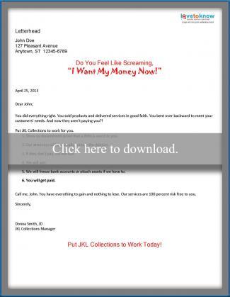 Direct mail sample letter 4