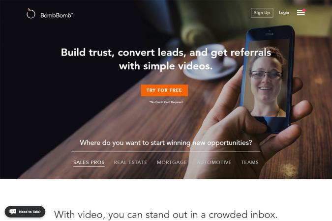 Best tools for email marketing lovetoknow screenshot of bombbomb reheart Image collections