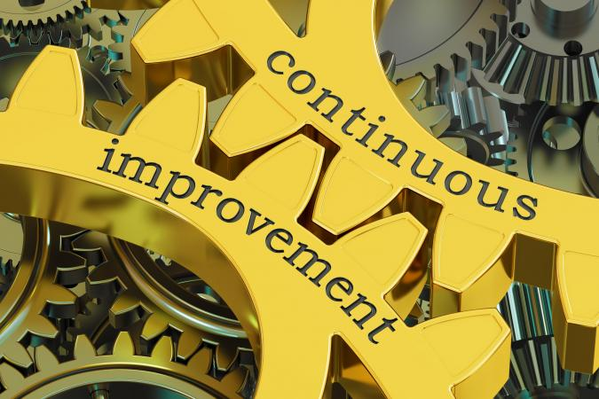 continuous improvement gears