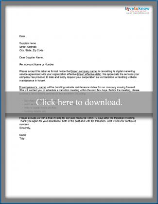 Sample letter of cancellation of business contract letter of cancellation for website service thecheapjerseys Gallery
