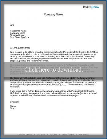Recommendation Letter For Business from cf.ltkcdn.net