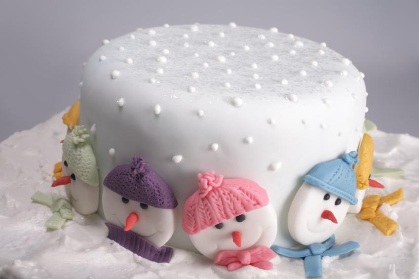 Novelty Christmas Cake Decorations
