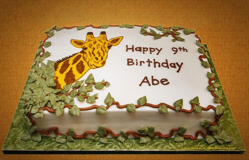 Giraffe Cake Designs LoveToKnow