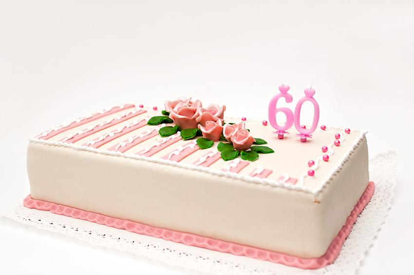 60th Birthday Marzipan Cake  sc 1 st  Cake Decorating - LoveToKnow & 60th Birthday Cake Ideas | LoveToKnow