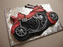 Motorcycle Cake Decorating