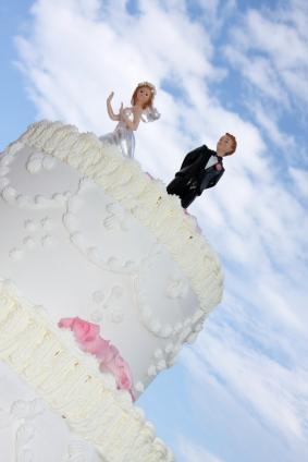Runaway bride topper
