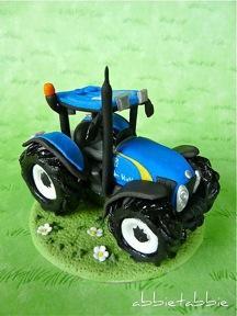 How Do I Make a Tractor Cake?