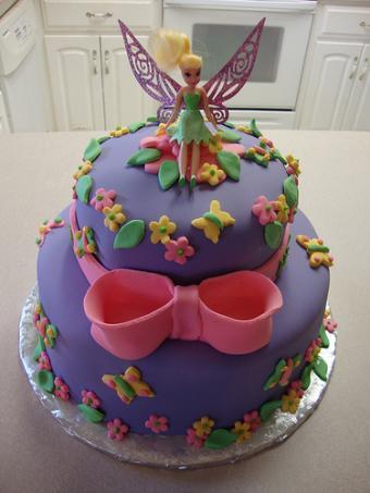Double tier fairy cake