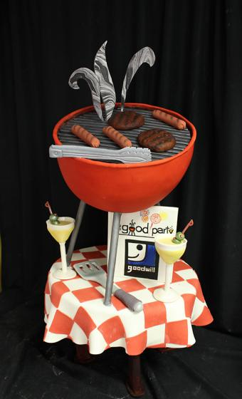 Barbecue Grill Birthday Cakes