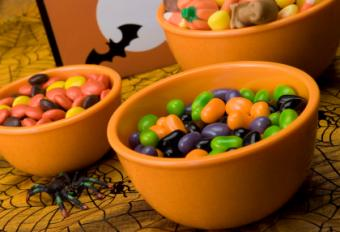 Halloween candy decorating supplies