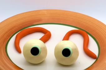 Fondant eyeballs