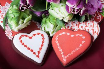 Toothpick Heart Cookies