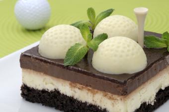Golf Cake Designs