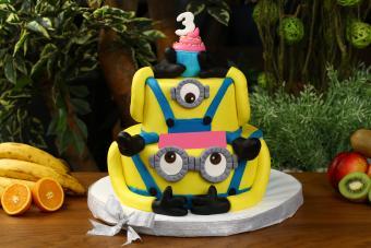 Minions Cake Idea