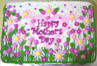 Garden Flowers Cake