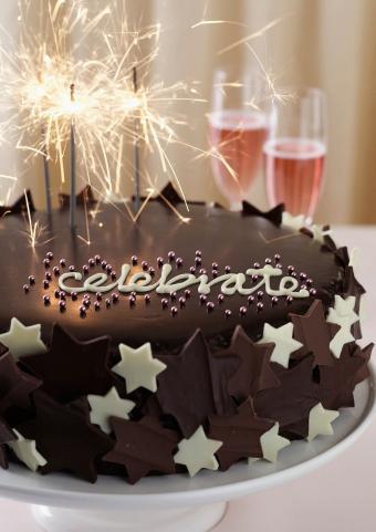Sparkling Celebration Cake