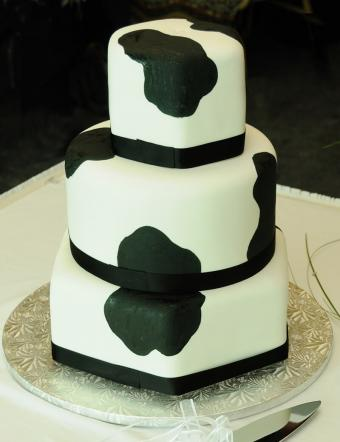 Elegant Cow Cake