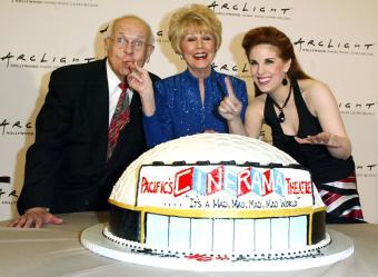 Johnny Grant, Karen Sharpe and Katherine Kramer