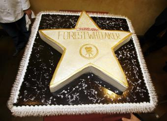 Forest Whitaker Hollywood star cake
