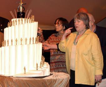 Oscar Party Staircase Cake