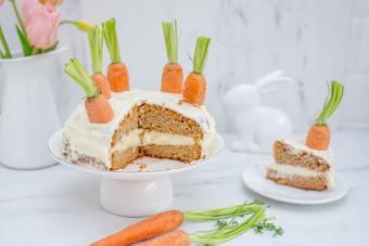 Rustic Carrot Cake With Real Carrots