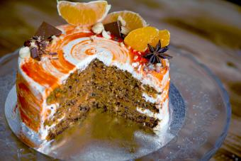 Orange Swirl Carrot Cake