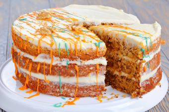 Drizzled Carrot Cake
