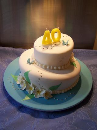 40th birthday cake ideas lovetoknow for 40th birthday cake decoration
