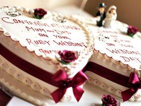 60th Wedding Anniversary Ideas >> Anniversary Cake Design | LoveToKnow