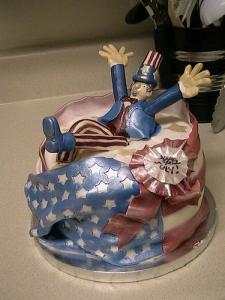 Uncle Sam Cake
