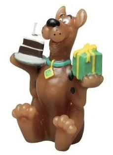 Scooby Doo cake candle by Wilton