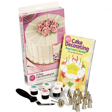 Wilton 53 piece cake decorating set (c)2013 Wilton Industries, Inc.