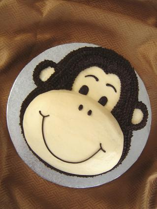 Monkey Birthday Cake Lovetoknow