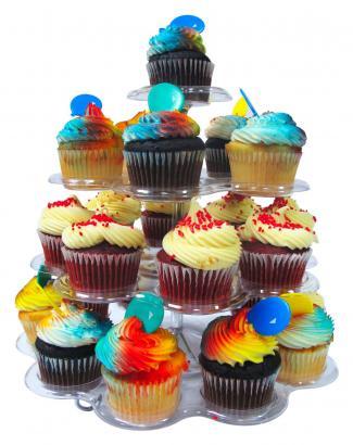 shaped cupcake stand